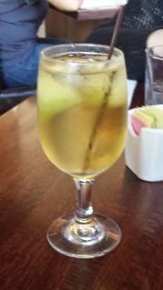 Autumn Sunday in Fell's Point, Baltimore - White Sangria - Ginger-Peach Infused - at Teavolve