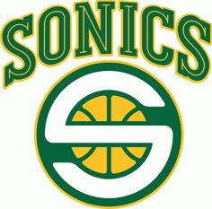 Seattle Supersonics alternate logo 2001-08