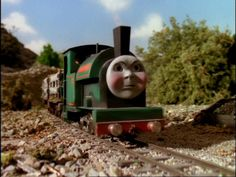 Peter Sam in the TV series, like Sir Handel, Peter Sam kept his Mid Sodor livery on the Skarloey Railway in the TV Series. Toy Trains, Model Trains, Thomas And His Friends, Nice Person, Bear Coloring Pages, Thomas The Tank, Toot, Classic Tv, Read Books