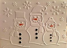 darice ornament embossing folder card ideas - Google Search