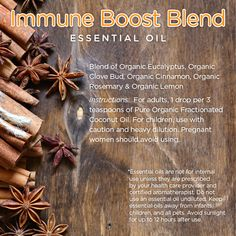 Refreshing and uplifting aromatic organic essential oil blend.