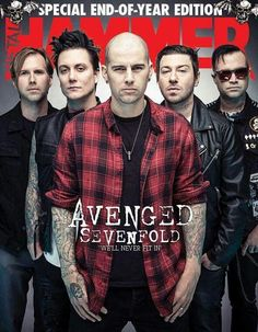 a7x, syn, and avenged sevenfold image