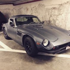 Beautiful old TVR spotted in Gent, Belgium.