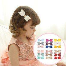 New Multicolour 8 Inch Jojo Hair Bow Clip Girl Kids Bowknot Hot 8804