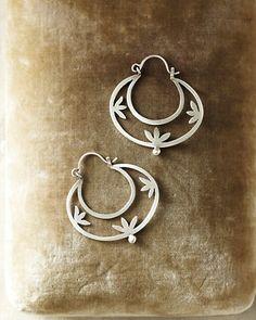 Jane Diaz Cutout Earrings