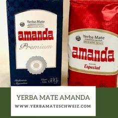 Yerba Mate Amanda Premium und Amanda Especial im Doppelpack. Yerba Mate, Amanda, Te Quiero, Argentina, News