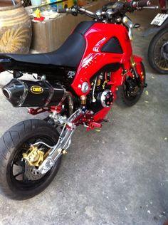 so much colors Grom Bike, Honda Grom, Pocket Bike, Scooter Bike, Mini Bike, Dirt Bikes, Vintage Bikes, Bike Stuff, My Ride