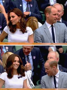 William and Catherine at Wimbledon