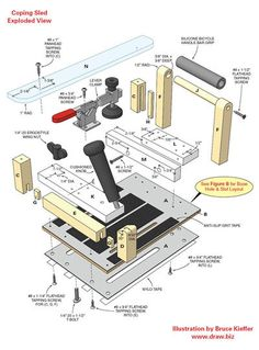 Coping Sled Jigs Woodworking Projects Amp Plans