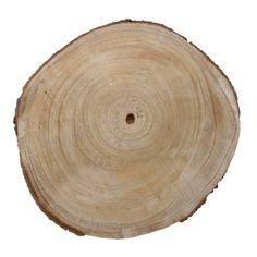 Timber wood slice-Round-36cm