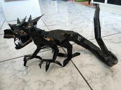 Black Dragon - #papercraft