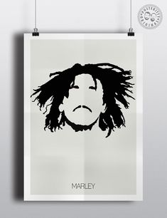 #minimalist #poster #posteritty #art #original #hair #bobmarley