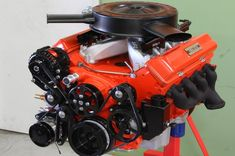 Chris Burrell saved to DEL starts with a fresh-out-of-the-box Chevy engine and continues with carefully chosen components to give it the looks of a traditional small-block. Ls Engine Swap, Truck Engine, Chevy Pickups, Chevy Trucks, Chevy 4x4, Chevy Impala, Diesel Trucks, Pickup Trucks, Chevy Motors