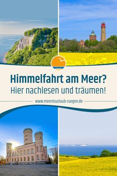 Himmelfahrt am Meer? Reisen In Europa, Seasons Of The Year, Baltic Sea, Fresh Green, Fathers Day, About Me Blog, Advice, Vacation, Partner