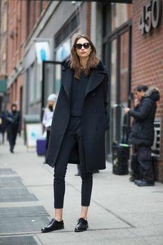 chaussures derby femme pas cher noir