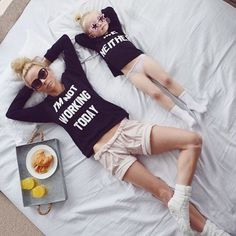 83102274c71a Avaliable now Autumn Women Letters Print Pullover Family Matching Tops  Clothes Mother Baby Girls Round Collar Sweatershirt Kids Clothing