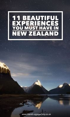If you ever needed a reason to visit New Zealand, then now is the time! You see, it's totally stunning. This is especially true with all the best places 11 Best Places In New Zealand To See Travel, Travel Advice New Zealand Travel, Food and Home In Travel Advice, Travel Guides, Travel Tips, Travel Essentials, Places To Travel, Places To See, Travel Destinations, Travel Europe, New Zealand Destinations