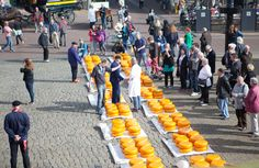 GOUDA CHEESE MARKET || open every Thursday 7 Apr-25 Aug from 1000-1230 || Cheese trading with 'hand slapping', cheese weighing in the Goudse Waag, cheese making, traditional and speciality products, the Cheese Express tour.