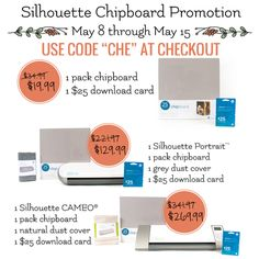 May Silhoette Promotions at thatswhatchesaid.net