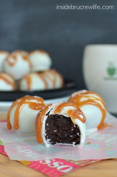 Salted Caramel Mocha Truffles 2