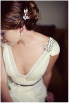 Dress: J Mendel. Photo by Tealily Photography. Featured on www.portobellobrideblog.blogspot.com @Portobello Bride