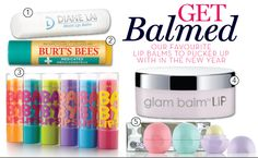 Get BALMED! Show your lips some lovin