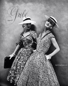 Grobe' Originals - Anne Gunning (L) & Evelyn Tripp (R)