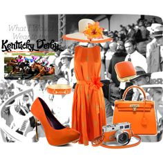WHAT I WOULD WEAR TO KENTUCKY DERBY, created by stylemusthaves on Polyvore