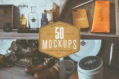 50 Hip Logo Overlay Mock-Ups…