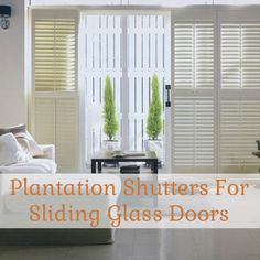 find plantation shutters for sliding glass doors blindscom blog