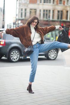 New Fashion Model Street Style Ideas Street Fashion Show, Look Fashion, Runway Fashion, Trendy Fashion, Fashion Models, Autumn Fashion, Fashion Outfits, Fashion Trends, Model Outfits