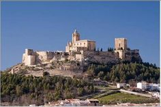 Spain - Castillo de Alcala la Real, Jaen by vonda Spain Places To Visit, Places To See, Medieval Fortress, Medieval Castle, Places Around The World, Around The Worlds, Château Fort, Hidden Places, Castle Ruins