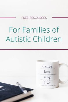 As the rate of the autism diagnosis continues to rise, more families are on the lookout for information and help. I've gathered together just a few free resources for families of autistic children to help you in this initial stage of the journey. via @koriathome