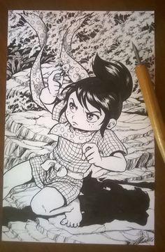 fanart di Sasuke il piccolo samurai