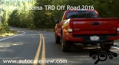 Toyota Tacoma TRD Off Road 2016 Review Part 3 So look for those on land