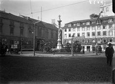 Praça do Município, Lisbonne. Arquivo Municipal de Lisboa / PT/AMLSB/ACU/000572