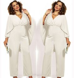 Trend Alert: Plus Size jumpsuit | 50 style, Pleated pants and ...