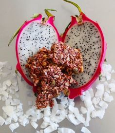 Dragon fruit, real lemon, coconut... granola never tasted this refreshing! . . . . . . #instafood #foodie_features #fitness #healthy #instadaily #healthspo #nutrition #cleaneating #paleolifestyle #paleolife #eatclean #glutenfree #grainfree #allnatural #dairyfree #fitfam #fitfood #fitfoodie  #realfood #preworkoutsnack #travelsnack #healthspo #wholefoodies #igfood #healthyeats #fitfluential #veganig #paleovegan #veganfood || Fuel Smarter. Train Harder. ||  #Supernola