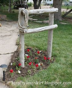 Back Yard Western ~ Hitching Post
