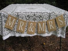 Please Sign Our Guestbook Wedding Guest Book Table Decor Standing Burlap And Vintage Look Wood
