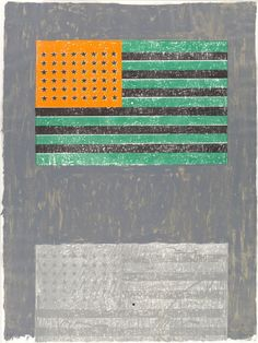 Flags by Jasper Johns, 1968