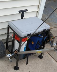 1000 images about fishing cart on pinterest fishing for Pvc fishing cart