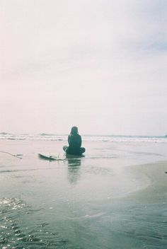 Stillness by the ocean. | Katt Frank