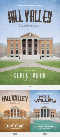 Hill Valley through the years