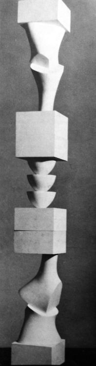Hans Arp - Column with Interchangeable Elements, 1945-1955