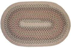 Rhody Rugs - Millennium Collection - M-414: Willow Oval 10' x 13' by Rhody Rugs, Inc. $999.00. Indoor/Outdoor Rugs. Guaranteed to lie flat.. Made in USA. 75% Wool and 25% Texturized Polypropylene. Soil, stain and fade resistant.. These braided rugs are for luxurious styling. Millennium rugs are composed of 75% Wool and 25% Texturized Polypropylene