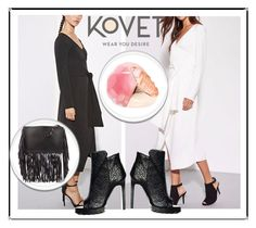 """""""SHOP - KOVET"""" by ladymargaret ❤ liked on Polyvore featuring Ona Chan, women's clothing, women, female, woman, misses and juniors"""