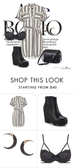 """""""stripes"""" by agnesegundega on Polyvore featuring Dorothy Perkins, Robert Clergerie, Lana, Topshop and Ina Kent"""