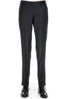 Pantaloni Grigio Scuro | Abbigliamento Elegante Uomo | Sartoria Rossi