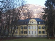 The von Trapp Villa that was home to the real von Trapp family. Now used as a hotel in Austria.